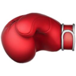 boxing glove emoji u 1f94a