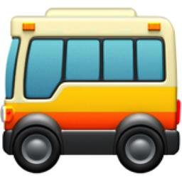 Resultado de imagem para bus emoji