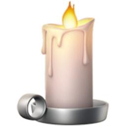 Candle Emoji U 1F56F