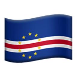 Cape Verde Emoji (U+1F1E8, U+1F1FB)