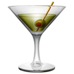 Cocktail Glass Emoji (U+1F378)