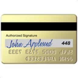 Credit Card Emoji (U+1F4B3)