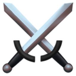 Crossed Swords Emoji (U+2694, U+FE0F)
