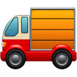 Delivery Truck Emoji (U+1F69A)