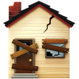 Derelict House Emoji U 1f3da