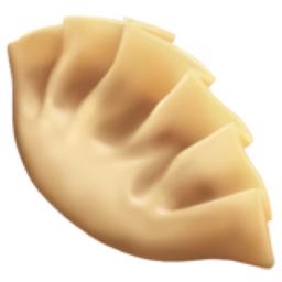 Dumpling Emoji U 1f95f