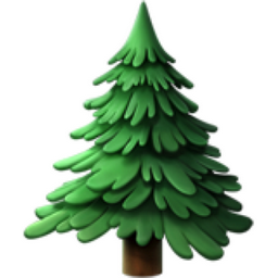 Christmas Tree Emoji.Evergreen Tree Emoji U 1f332