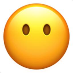 Neutral Face Emoji U1f610