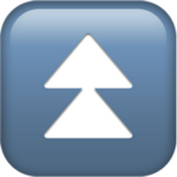 Fast Up Button Emoji U 23eb