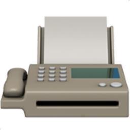 Fax Machine Emoji U 1f4e0