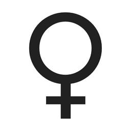 Female Sign Emoji (U+2640)