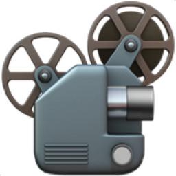 Film Projector Emoji (U+1F4FD)