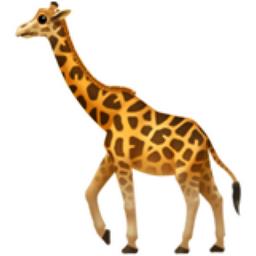 Giraffe Emoji (U+1F992)