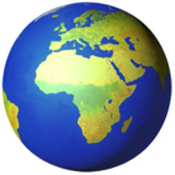 Globe Showing Europe Africa Emoji U 1f30d