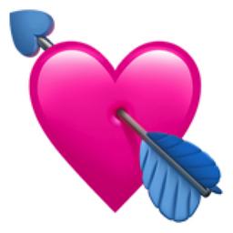 Heart With Arrow Emoji U 1f498