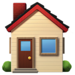 House Emoji (U+1F3E0)