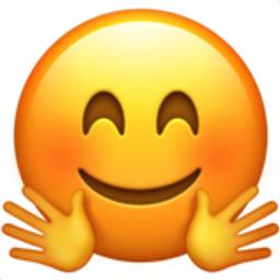 Hugging Face Emoji (U+1F917)