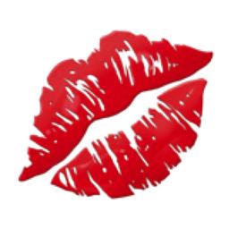 Kiss Mark Emoji (U+1F48B)