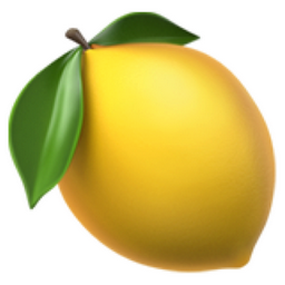 Lemon Emoji (U+1F34B)