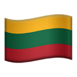 Image result for Lithuania emoji