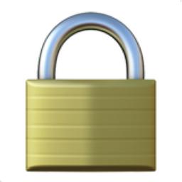 Locked Emoji (U+1F512)