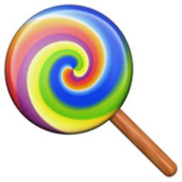 Lollipop Emoji (U+1F36D)