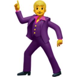 Man Dancing Emoji (U+1F57A)