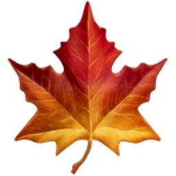 Maple Leaf Emoji U1f341