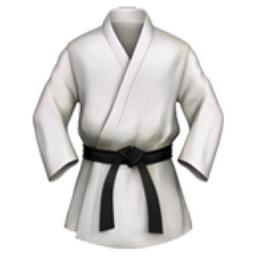 Martial Arts Uniform Emoji U 1f94b