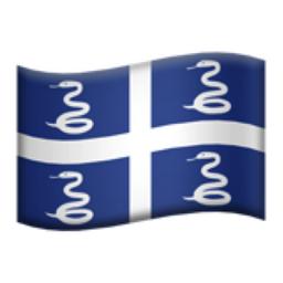 Martinique Emoji (U+1F1F2, U+1F1F6)