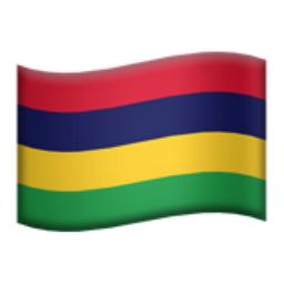 Mauritius Emoji (U+1F1F2, U+1F1FA)