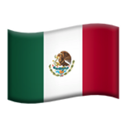 Mexico Emoji U 1f1f2 U 1f1fd This list contains the emojis of all country flags of the world, with the exception of northern ireland, for which emoji do not exist. iemoji com