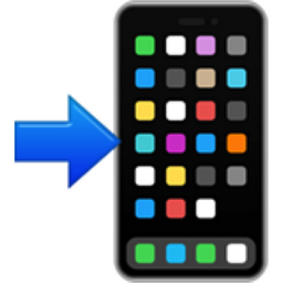 Mobile Phone with Arrow Emoji (U+1F4F2)