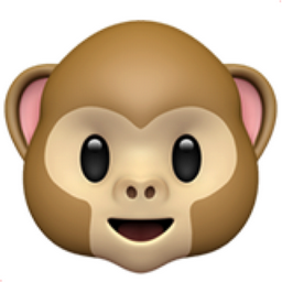Monkey Face Emoji (U+1F435)