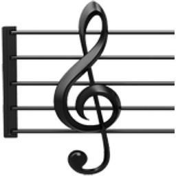 Musical Score Emoji U 1f3bc