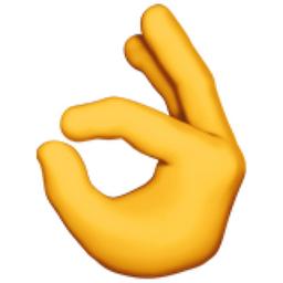 Ok Hand Emoji U 1f44c