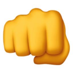 Oncoming Fist Emoji U1f44a