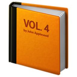 Orange Book Emoji U 1f4d9