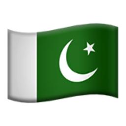 Pakistan Emoji (U+1F1F5, U+1F1F0)