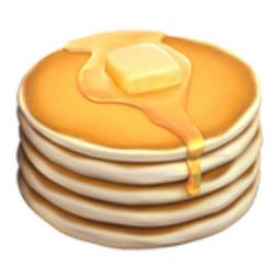Pancakes Emoji (U+1F95E)