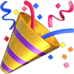 Party Popper Emoji (U+1F389)