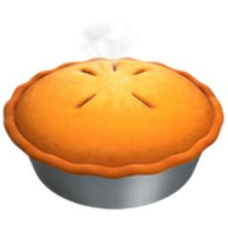 Pie Emoji (U+1F967)