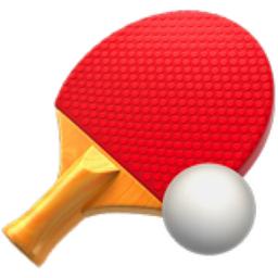 Ping Pong Emoji (U+1F3D3)