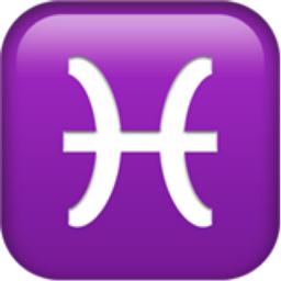 Pisces Emoji (U+2653, U+FE0F)