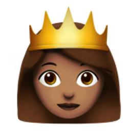 Princess Medium Skin Tone Emoji U 1f478 U 1f3fd