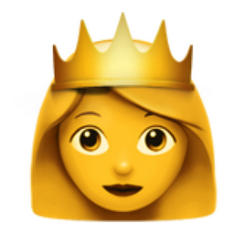 Princess Emoji (U+1F478)