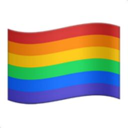 Rainbow Flag Emoji (U+1F3F3, U+FE0F, U+200D, U+1F308)