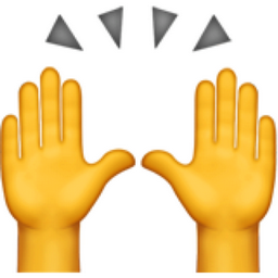 raising hands emoji u1f64c