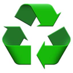 Recycling Symbol Emoji (U+267B, U+FE0F)