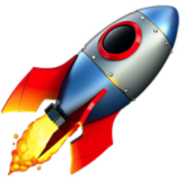 Image result for rocket emoji